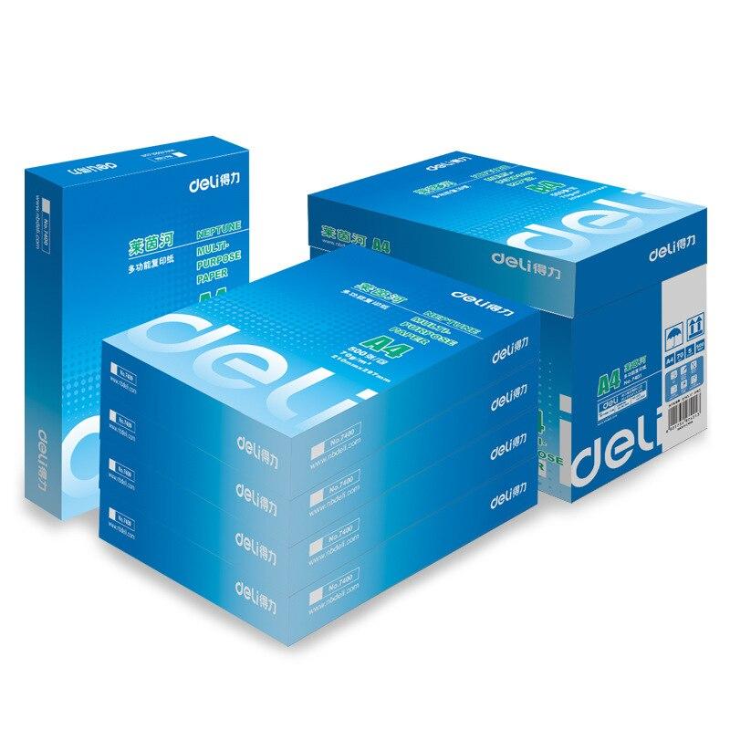 Deli Copy Paper 7401 Rhine Copy Paper A4 Copy Paper 70G Print Copy Paper Good