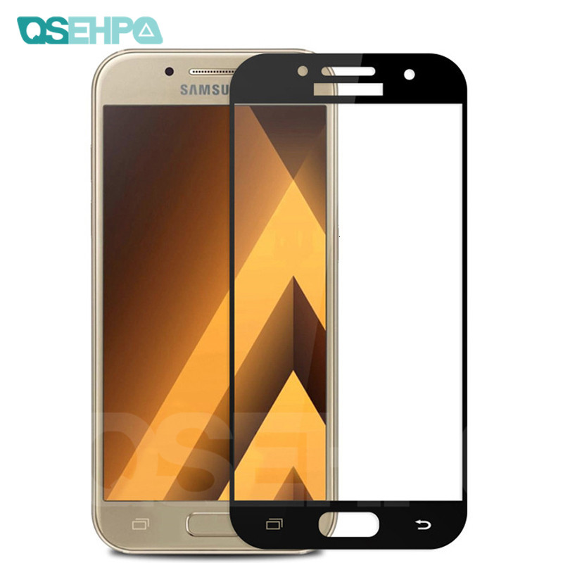 9D Protective <font><b>Glass</b></font> on the For <font><b>Samsung</b></font> Galaxy S7 A3 A5 A7 2017 J3 <font><b>J5</b></font> J7 2016 2017 Tempered Screen Protector <font><b>Glass</b></font> Film Case image