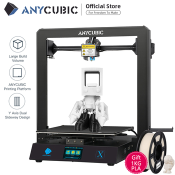 Anycubic 3D printer Mega-X 300*300*305mm Printers MegaX Large Printing Size MeanwellPower Supply 3d Impressora 1