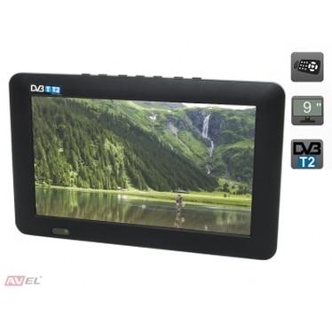 """Портативный телевизор 9"""" DVB T2 AVS090CM Спортивный и портативный GPS   """
