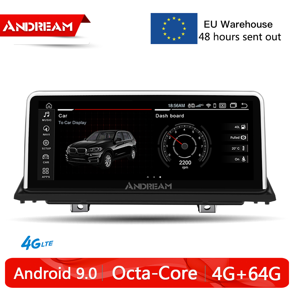Gps Navigation Car Multimedia 2009 2008 Android 9.0 2007 Bmw X5 64G 1 for E70x6 8core