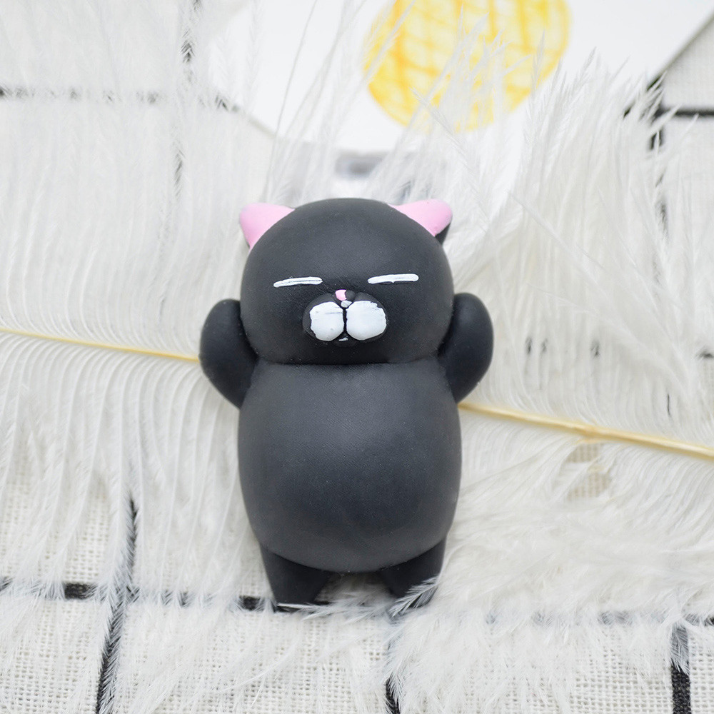Adult Toy Reliever-Decor Stress Decompression Healing Mochi Cat-Squeeze Fun Kids Cute img2