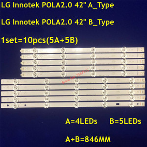 Image 4 - Tira Retroiluminação LED lâmpada Para LG INNOTEK 9 POLA2.0 Pola 2.0 42 TV T420HVN05.0 T420HVN05.2 42LN5300 42LN5406 ZA 42LN5400 42LN5750
