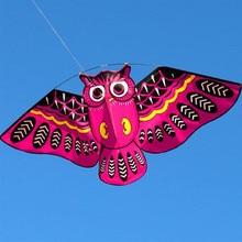 """3D воздушный змей """"Сова"""", детская игрушка, забавная, для улицы, Классическая игра в парашютный вид деятельности, с хвостом, игрушки для детей, спорт, раннее обучение, Обучающие"""