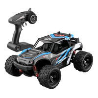 40+MPH Remote Control RC Car 4WD Large Battery Powered Kids High Speed 1:18 Easy Operation Off Road 2.4GHz Model Plastic Crawler