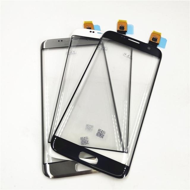 Ban đầu Các Bộ Phận Thay Thế Dành Cho Samsung Galaxy Samsung Galaxy S7 Edge G9350 G935 G935F Bộ Số Hóa Màn Hình Cảm Ứng Cảm Biến Kính Cường Lực
