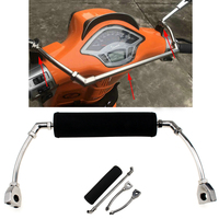 Scooter child shatter resistant armrest bracket chest safety bar for Vespa scooter Piaggio 125 GTV GTS 200 300 Sprint 150 LX