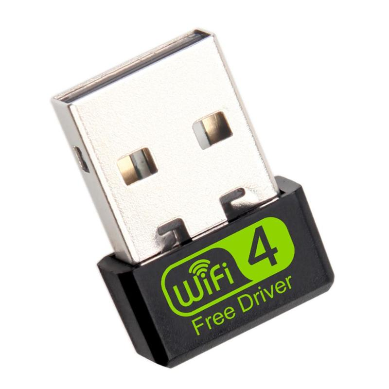150Mbps Free Driver USB Wireless Adapter WiFi Receiver Dongle Network Card Antena Wi Fi Receiver For Desktop PC Windows