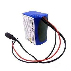 Image 4 - 12V 2200mah 3000mAh 6800mah 9800mah 10ah 18650 Li lon DC 12V 슈퍼 충전식 배터리 팩