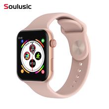 Soulusic F10 Bluetooth inteligentny zegarek aparat ekg do mierzenia tętna serca iwo 8 lite smartwatch dla androida Apple opaska xiaomi 4 PK iwo 8 Plus 10 tanie tanio Android Wear Na nadgarstku Wszystko kompatybilny 128 MB Passometer Fitness tracker Uśpienia tracker Wiadomość przypomnienie