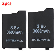 2 шт 36 В 3600 мАч литий ионный аккумулятор для sony psp 2000