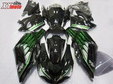 Injection ABS Plastic Fairings For Kawasaki ZX14R 12-18 13 14 15 Motorcycle Fairing Kit ZX-14R 2012-2018 Gloss Black Bodyworks цена