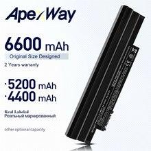 ApexWay D255 Bateria para Acer Aspire One D270 D260 522 722 AOD255 AOD257 AOD260 D255E D257 D257E E100 AL10A31 al10b31