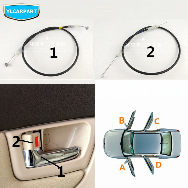 For BYD F3,F3R,Car Door Handle Cable Wire