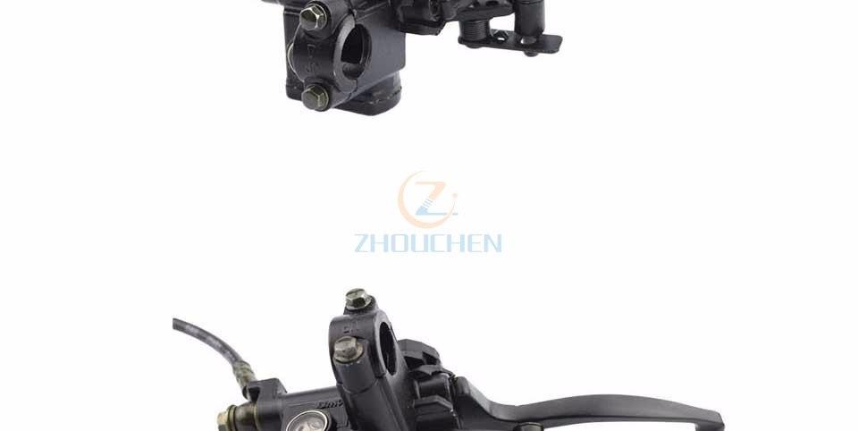 GOOFIT Cilindro maestro de frenos hidr/áulicos izquierdo para China 50cc 70cc 90cc 110cc 125cc 150cc 200cc 250cc Taotao Sunl ATV Quad