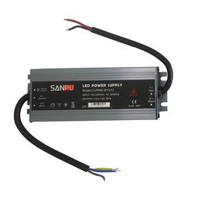 Image 5 - LED ultra thin waterproof strip power supply IP67 45W/60W/100W/120W/150W/200W/250W/300W transformer 175V~240V to DC12V 24V