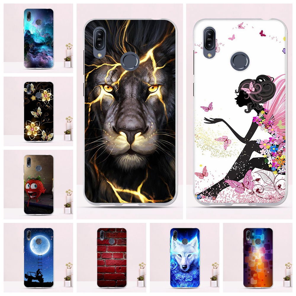 Case For Asus Zenfone Max M2 ZB633KL Case Cover Soft TPU Silicone Protective Back Shell Cover For Asus ZenFone Max ZB633KL Case