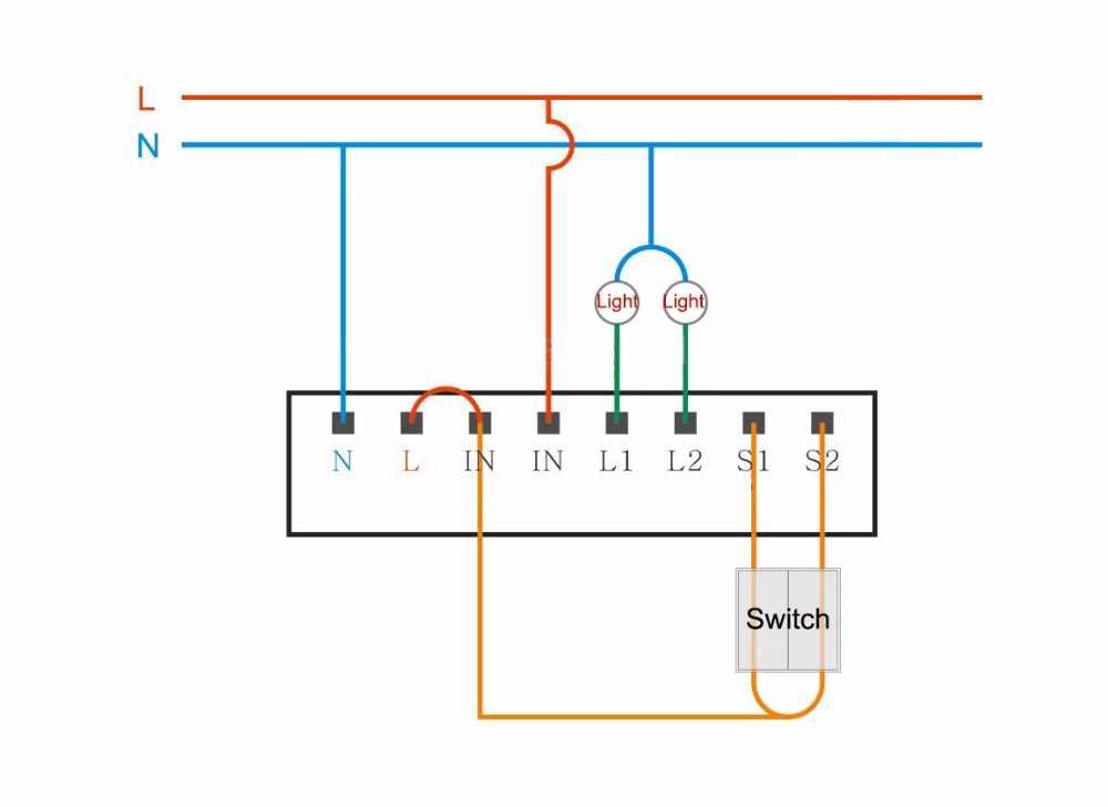 Módulo de interruptor Aqara con 2 canales, módulo de control de vía dual, interruptor de luz con control remoto zigbee, aplicación wifi, controlador inalámbrico