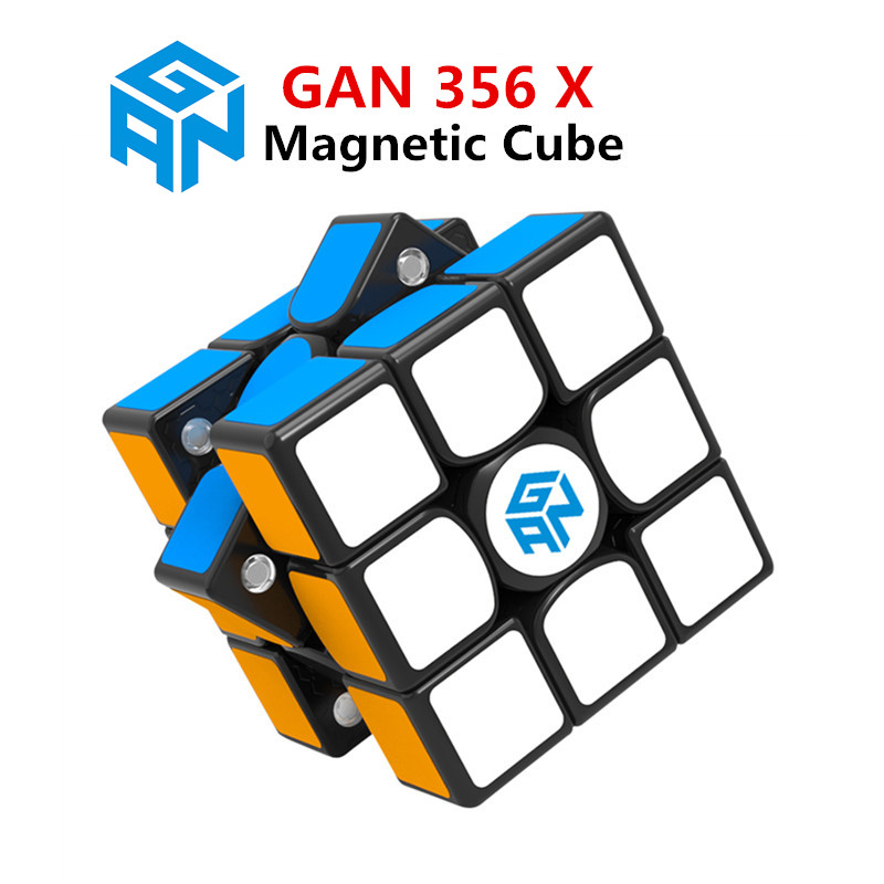 GAN 356 Air SM X 3x3x3 magnetic puzzle magic cube professional gan356 x speed cube magico gan354 M magnets cube gan 356 R S