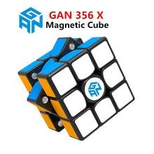 Купить с кэшбэком GAN 356 Air SM X 3x3x3 magnetic puzzle magic cube professional gan356 x speed cube magico gan354 M magnets cube gan 356 R S