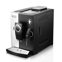 220 v expresso 커피 머신 자동 상업용 펌프 타입 2-in-1 그라인더 밀크 폼 메이커 커피 메이커 전기 CLT-Q003 핫