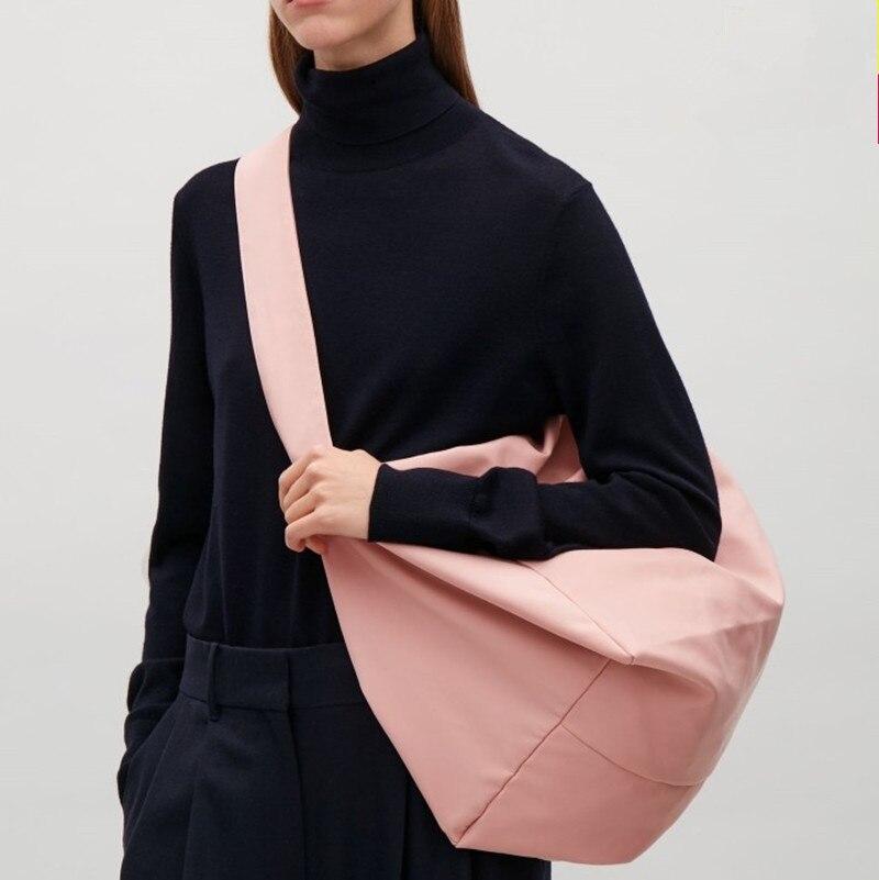 2019 New Women's Bag Canvas Bag Light Oxford Cloth Shoulder Messenger Bag Large Capacity Travel Shopping Bag Bolsa Feminina