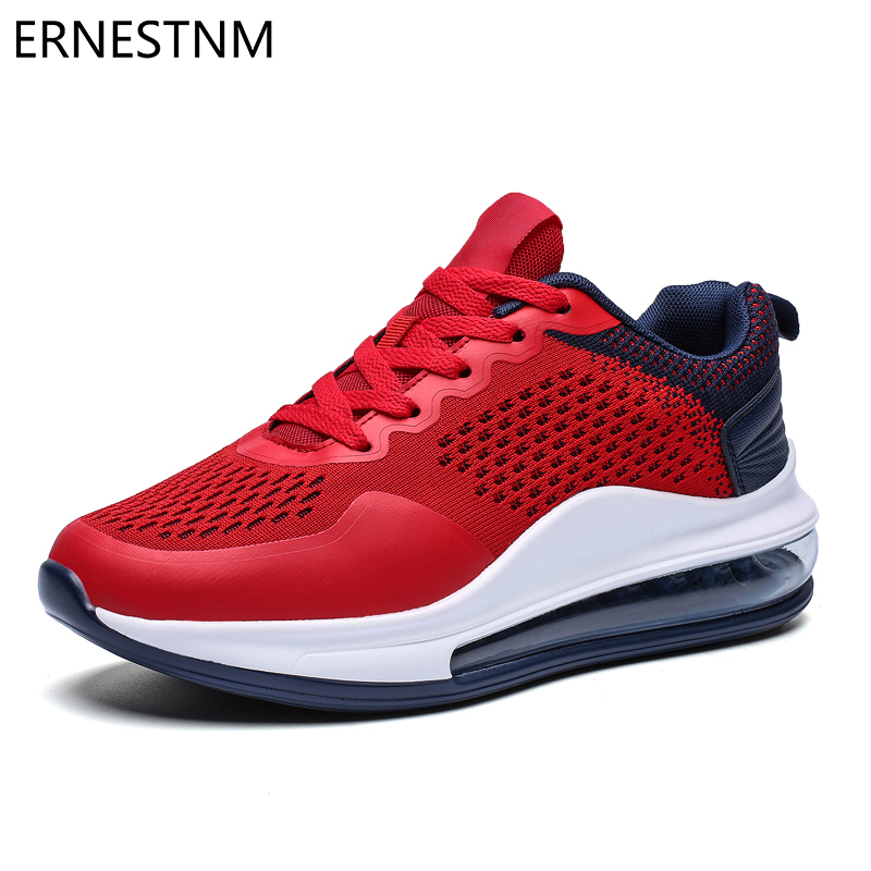 ERNESTNM Platform Sneakers Quality Knitting Zapatos De Mujer Men Casual Shoes Size11 Women Shoes Leisure Shoes Breathable Mesh
