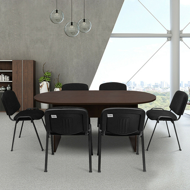 """69"""" x 35"""" Oval Conference Table 2"""