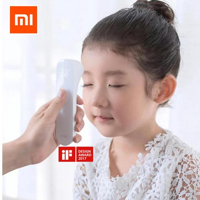 Xiaomi Mijia iHealth thermometer Non contact Baby care digital infrared Thermometer with LED screen