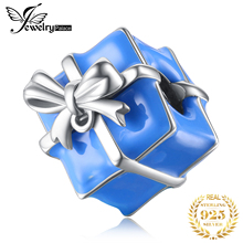 JewelryPalace Gift Box 925 Sterling Silver Beads Charms Original Fit Bracelet original for Jewelry Making
