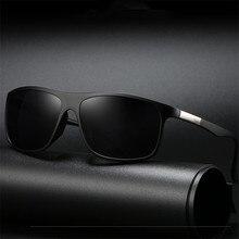 XojoX Classic Square Sunglasses Men Vintage Brand Deisgner D
