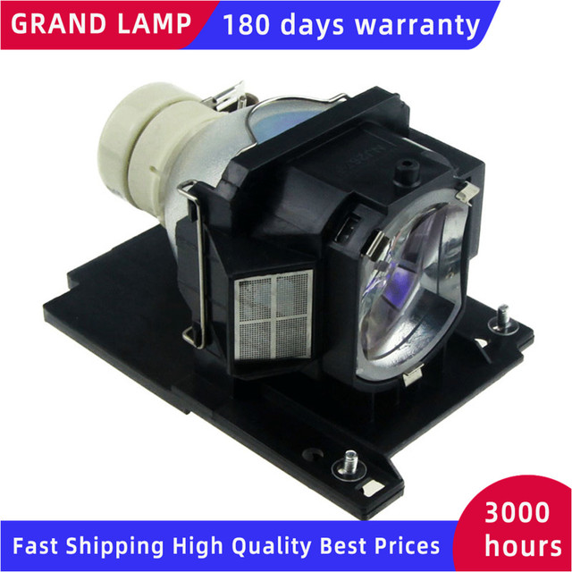 GRAND Replacement Projector Lamp DT01021 for HITACHI CP X2010/CP X2011/CP X2011N / CP X2510N / ED X40 / ED X42/ CP X2511