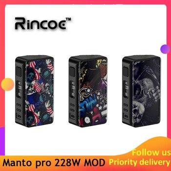 ¡Novedad! ¡Original! vaporizador Rincoe Manto pro Box MOD 228W e-cig con baterías 18650 vs Cigpet Capo/Dovpo mvv