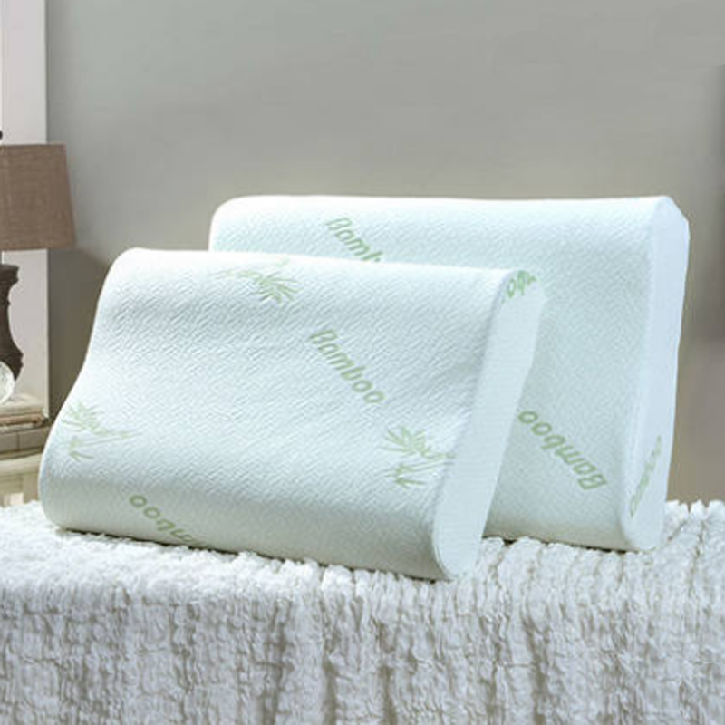 Bedding Pillow Neck Protection Memory Foam Pillows Contour Orthopedic Sleeping Pillows Bamboo Fiber Ergonomic Comfortable Pillow