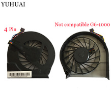 NEW cooling fan for HP Pavilion G4 G4-2000 G7 g7-2000 G6 G6-2000 683193-001 685477-001 FAR3300EPA fan and kipo 4pins стоимость