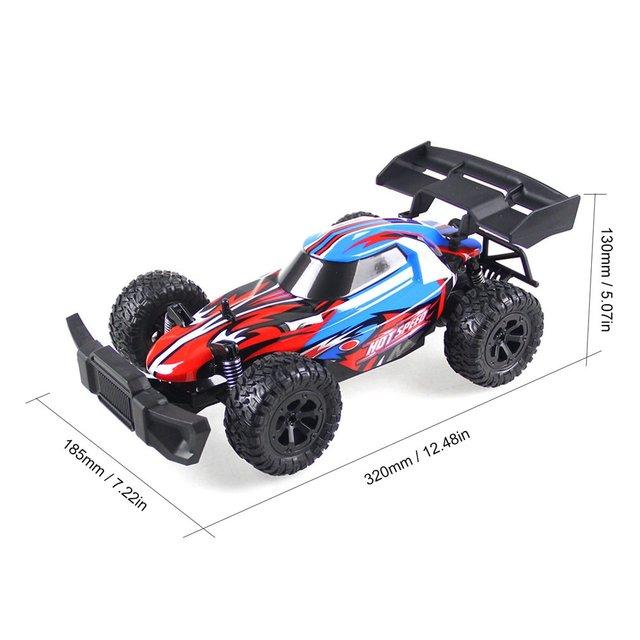 K14-2 114 RC grand pied voiture haute vitesse voitures de course 2.4G télécommande tout-terrain véhicule sur chenilles modèle RTR jouet