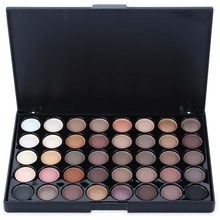 40 cores fosco sombra paleta glitter sombra de olho à prova dwaterproof água longa duração compõem palete shimmer moda feminina beleza olhos