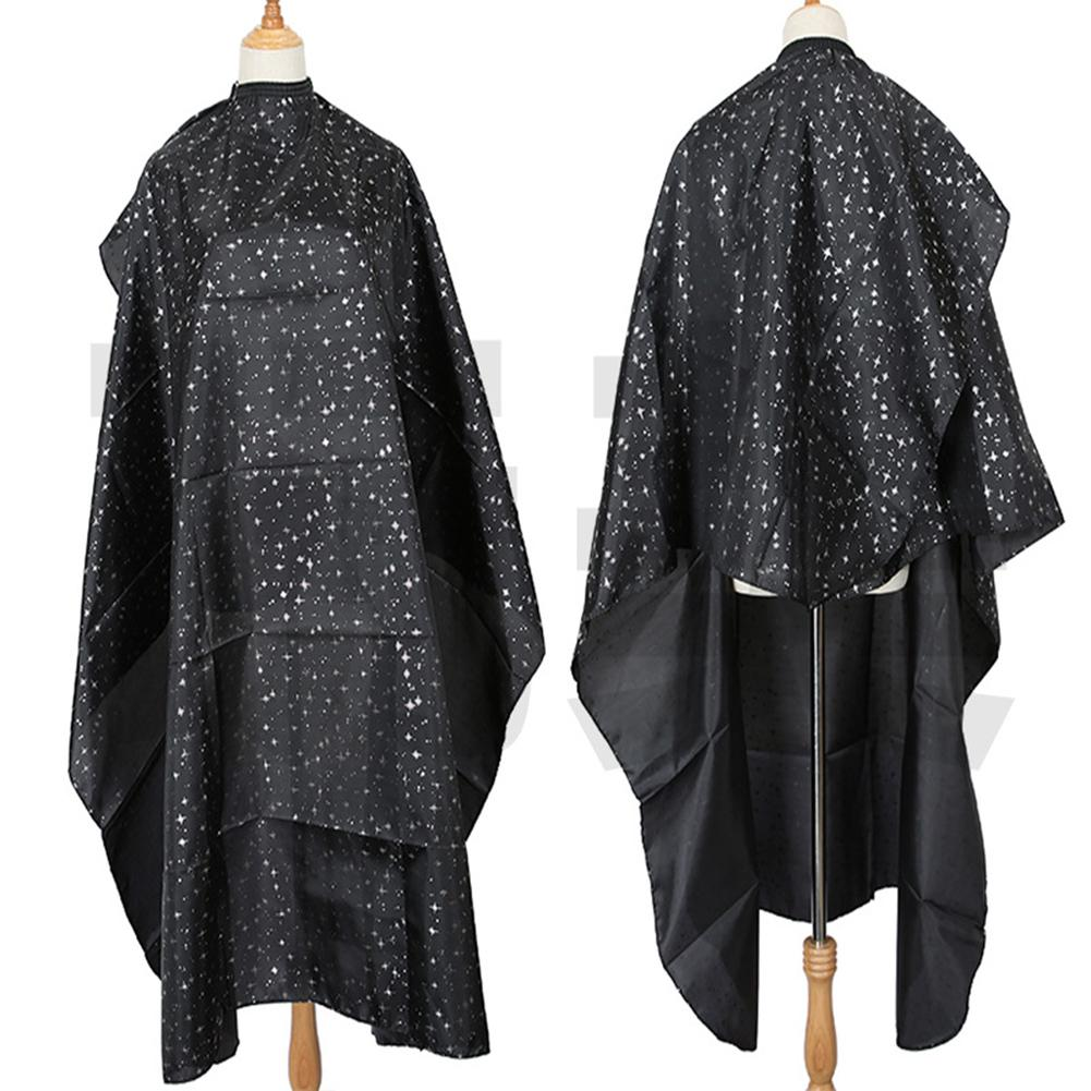 Star Print Adults Home Salon Pro Hairdressing Cloth Apron Hair Cutting Gown Cape Hairdressing Hairdresser Apron Haircut Capes