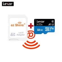 Ezshare – carte Micro SD sans fil, 128 go/32 go/64 go/256 go, classe 10, TF, mémoire Flash, adaptateur WIFI