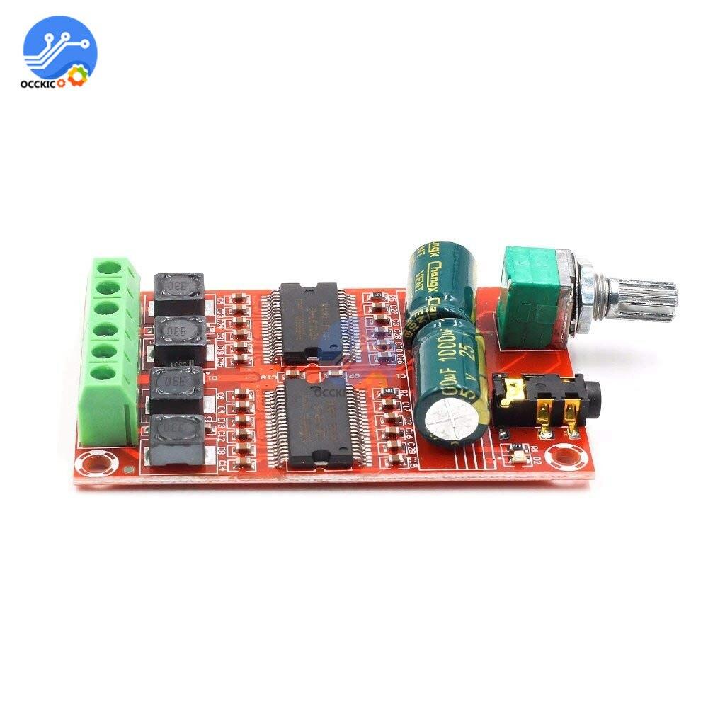 YDA138-E Digital Amplifier Board 2*20W Dual Channel HIFI Stereo Class D Audio Amplifier Board Speaker Sound Module