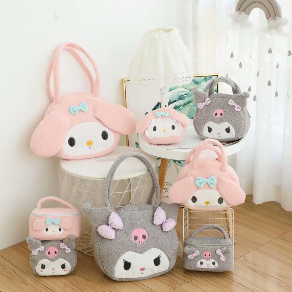 My Melody Kuromi Plush Backpack Sanrio Kuji 2020 Prize Japan Limited