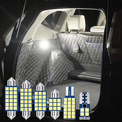 For Nissan Bluebird Sylphy Almera G11 2005-2009 2010 2011 4pcs Error Free LED Bulbs Car Interior Dome Reading Lamps Trunk Lights