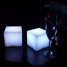 ABS Matte D10cm Modern Light up 7 colors changing led table lamps Bar Stool for Bar furniture Free Shipping Dropshipping 1pc/Lot