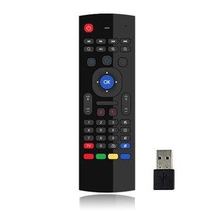 Голосовое управление беспроводная мышь с клавиатурой 2,4G RF гиродатчик умный пульт дистанционного управления для X96 H96 Android TV Box Mini PC vs G10