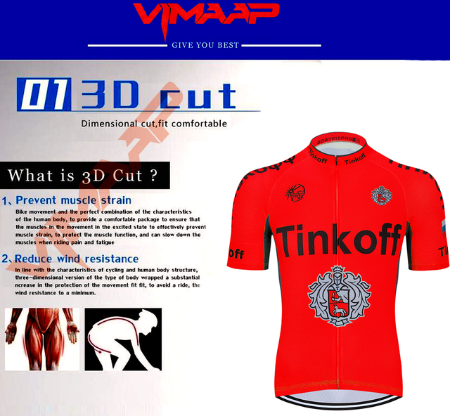 Fabryka sprzedaż bezpośrednia! SaxoBank Tinkoff jazda na rowerze koszulki garnitur jazda na rowerze odzież szybkie suche jazda na rowerze oddychająca jazda na rowerze odzież sportowa tanie i dobre opinie SUSHAN 100 poliester Lycra Polyester Spandex Krótki rękaw Factory direct sales 80 poliester i 20 lycra 26874653 Żel oddychające pad
