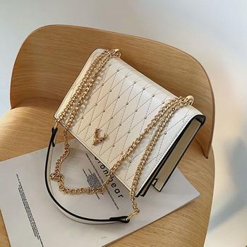 Raaqy Rivet Pu Leather Sling Bag