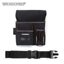 WORKPRO поясная Сумка Многофункциональная поясная сумка для инструментов электрик поясная сумка для инструментов держатель инструмента удоб...