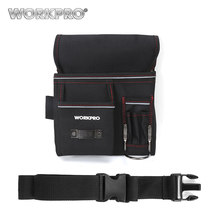 WORKPRO belt bag Multifunction Belt Tool Pouch Electrician Waist Tool Bag Tool Holder Convenient Work Organizer(China)