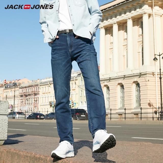 JackJones Mens Soft Stretch Slim Fit Denim Jeans Basic 219332585