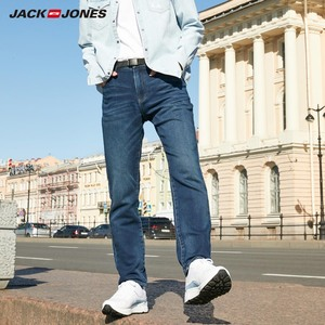 Image 1 - JackJones męskie miękkie rozciągliwe dopasowanie dżinsy podstawowe 219332585